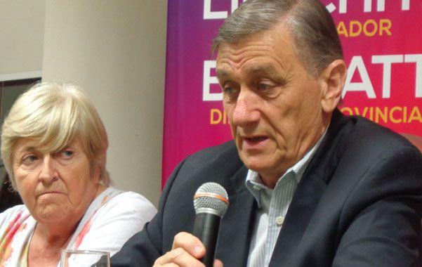 Con todo. Binner habló en Casilda del tema de los mellizos de Zavalla