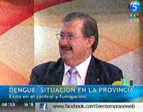 Cappiello destacó el éxito del operativo contra el dengue en la provincia