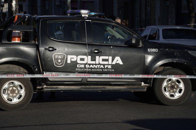 Dos hermanos fueron baleados en Presidente Quintana y Dorrego
