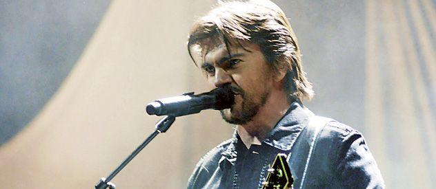 Juanes cantó sus hits durante dos horas en el teatro Broadway.