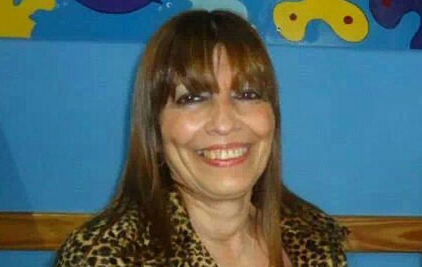 La docente. Quiroga tiene 60 años y dirigía la escuela de Pavón.