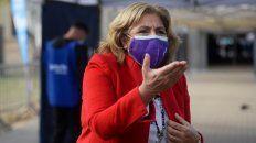 La ministra de Salud de Santa Fe, Sonia Martorano, dijo que ya se colocaron 1.300.000 vacunas en la provincia.