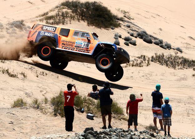 El rally Dakar es una de las competencias automovilísticas más populares del mundo.