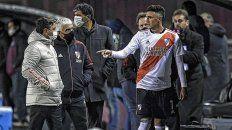 Matías Súarez no estará en River en el partido ante Boca.