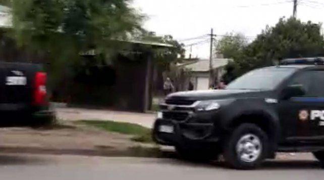 El episodio se produjo en Pérez y las actuaciones están a cargo de la Subcomisaría 18ª. (Foto: Rosario Alerta)