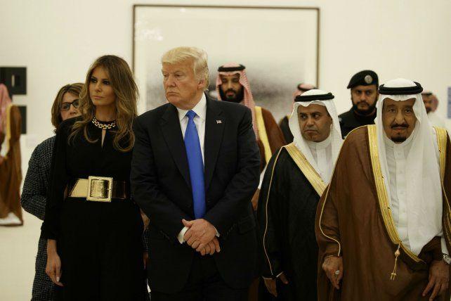 Visita. Los Trump
