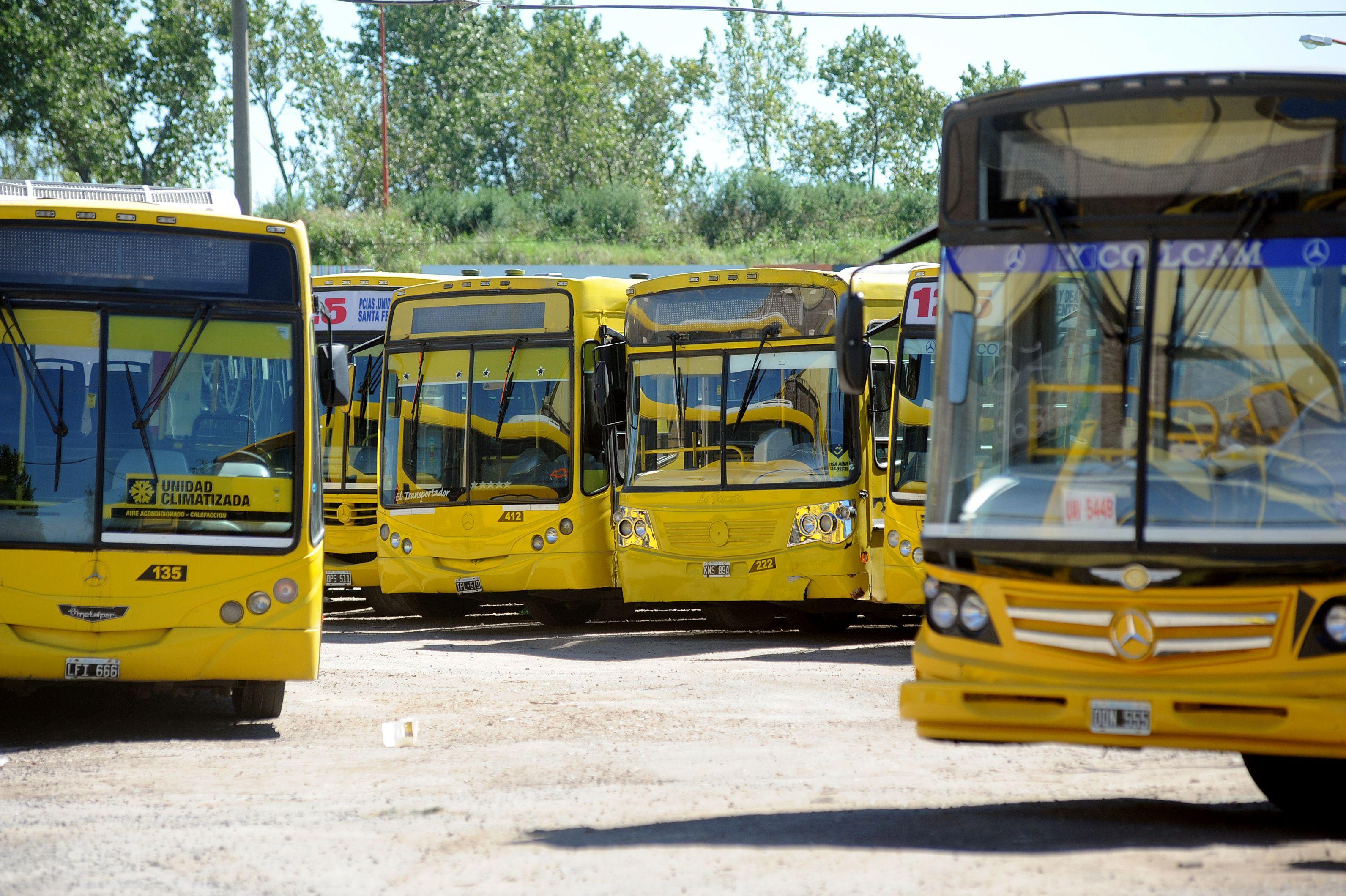 Las líneas de Rosario Bus circulan con normalidad.
