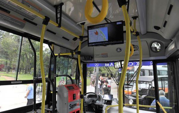 En el interior. Las unidades tienen pantallas informativas de alta definición.