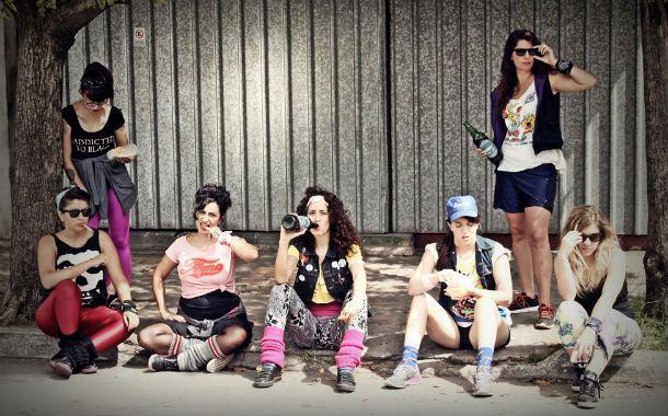 Muñecas Bravas. Paula Maffia (en el centro) dijo que la banda tiene una identidad muy amplia.