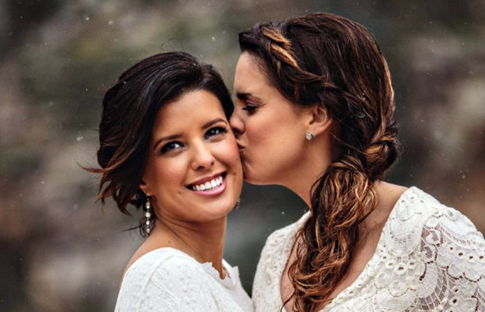 En Cataluña hay cada vez menos bodas tradicionales y más matrimonios entre mujeres