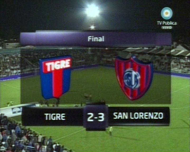 Un verdadero partidazo: San Lorenzo venció a Tigre en Victoria por 3 a 2