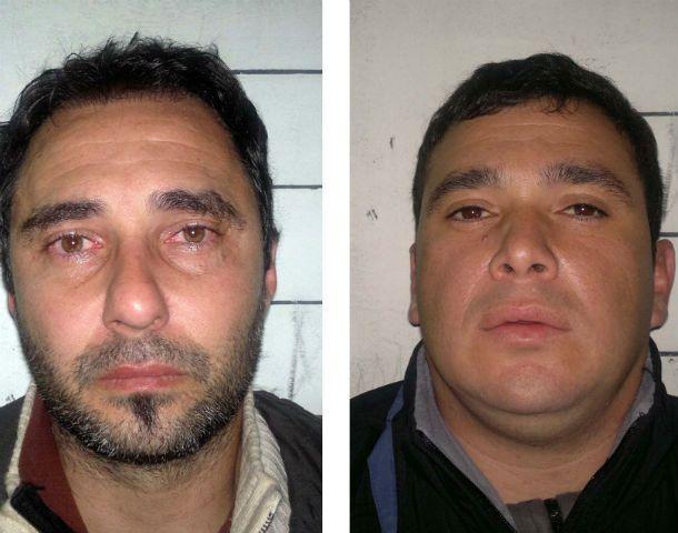 Rosarinos. García y Alvarado son dos de los reclusos investigados.