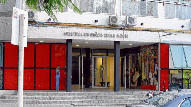 La bebé está internada desde el lunes en el Hospital de Niños Zona Norte.