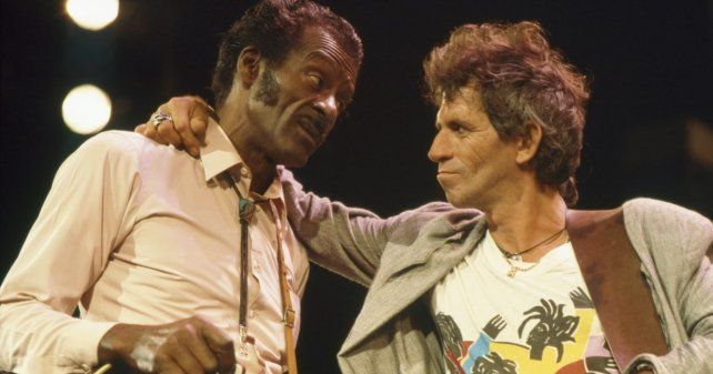 Los Rolling Stones dedicaron profundas palabras por la muerte de Chuck Berry