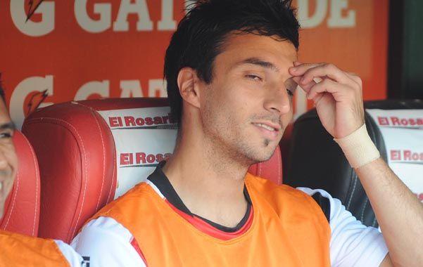 En espera. El goleador hoy definirá junto al DT si será titular o irá al banco.