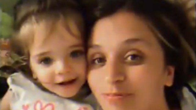 Valentina y su mamá Gisella