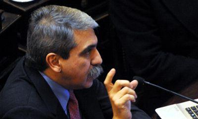 En su primer informe al Senado, Aníbal Fernández habló de la deuda y la gripe A