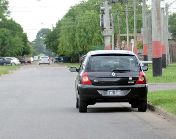 La calle Melián cerca del cruce con 509