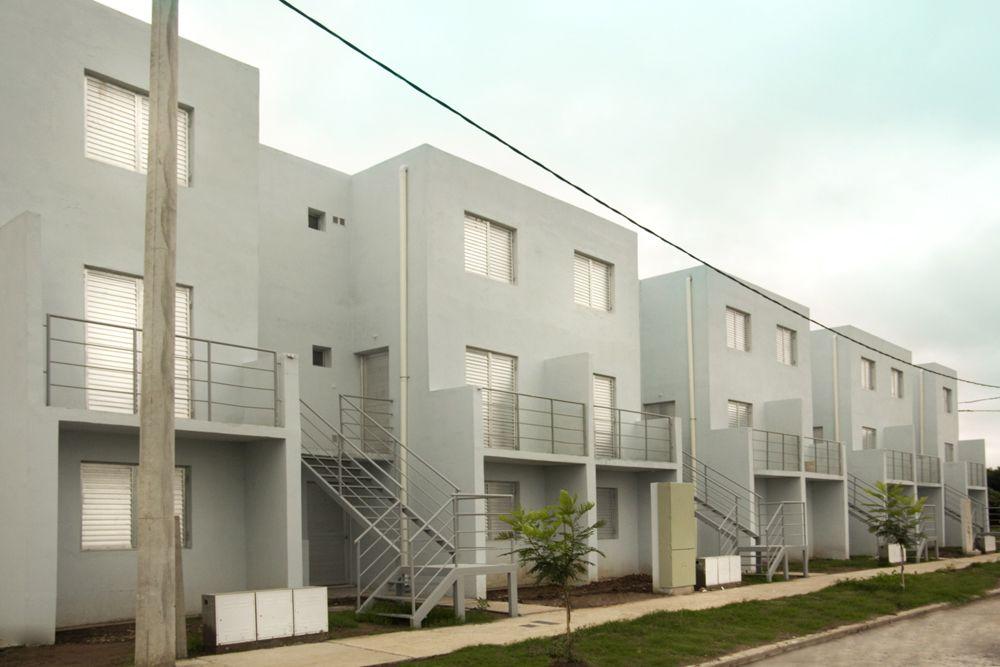 Las viviendas son de una planta