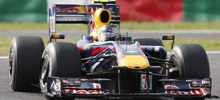 F-1: Vettel fue el más rápido en Suzuka tras una accidentada clasificación