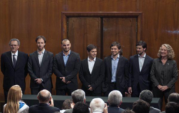 Parte del equipo económico argentino expondrá hoy ante la Corte Suprema de EEUU.