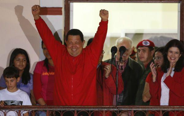 El triunfo de Chávez