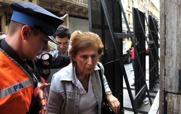 La madre de Nisman declaró esta mañana ante la fiscal Viviana Fein.