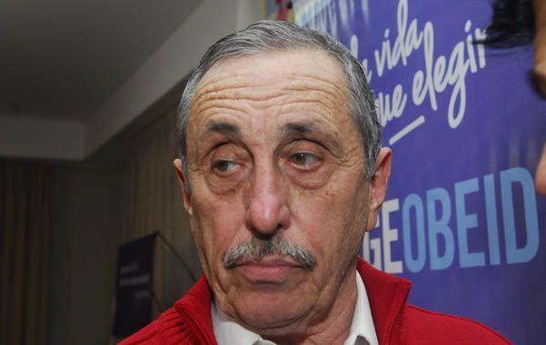 Desazón. Jorge Obeid no logró mejorar la performance del PJ en la provincia. (Diario Uno de Santa Fe)