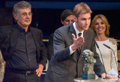 Damián Szifron recibió el premio en Madrid.