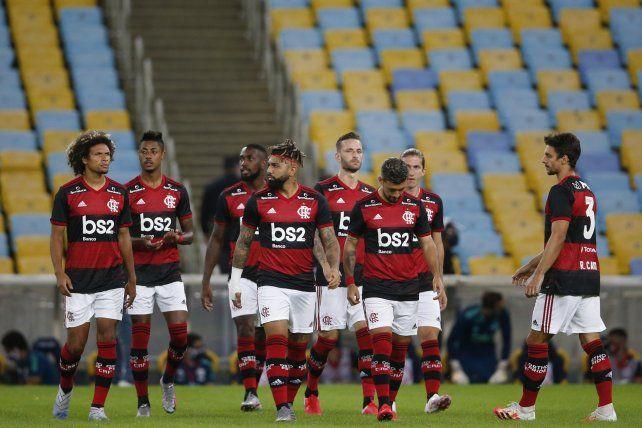 El Flamengo jugó hace dos días contra el Bangú en el estadio Maracaná.