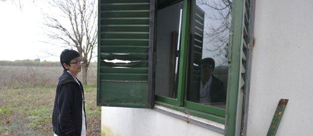 En el colegio de zona sudoeste reclaman un cerramiento. (Foto: Angel Amaya)