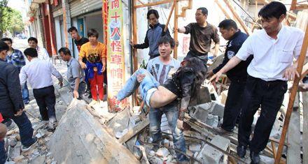 Al menos 14 muertos y 135 desaparecidos por un terremoto en China
