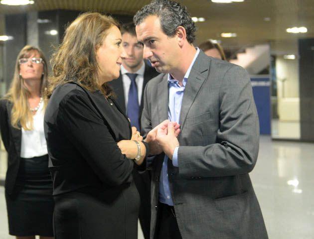 javkinvaloró el encuentro que ayer mantuvo con la intendenta Mónica Fein.