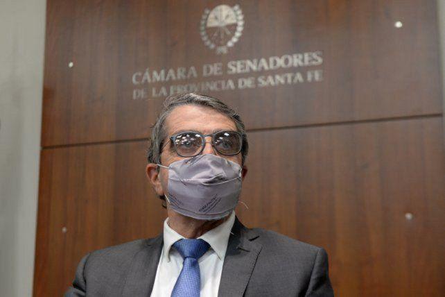 .El senador provincial por el departamento San Lorenzo