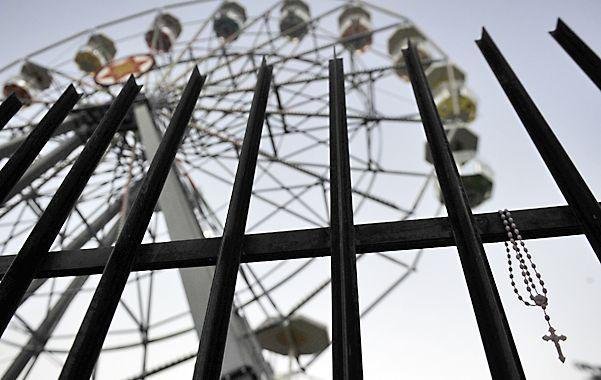 En este juego del parque Independencia el 10 de agosto se desató la tragedia.