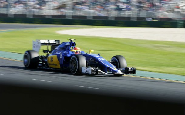 A pista. El debutante brasileño Felipe Nasr