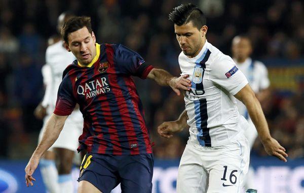 Con uno de Messi, Barcelona venció 2 a 1 al City y pasó a cuartos de la Champions