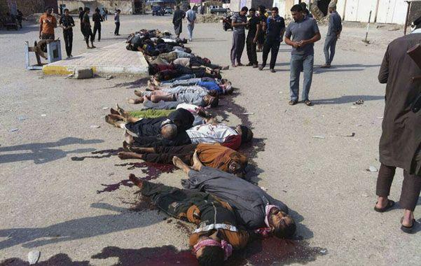Ayer se supo que el EI mató a más de 200 miembros de un clan sunita iraquí.