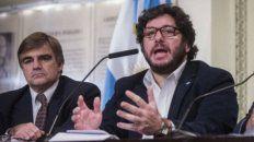 Polémica. El ministro Pablo Avelluto y el funcionario desplazado, Cacetta.