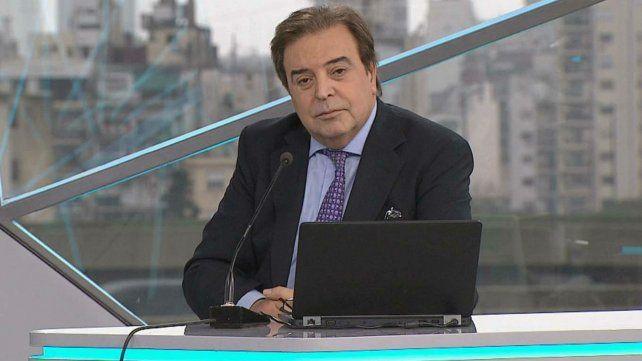 A los 62 años murió Edgardo Antoñana, conductor y periodista del canal TN