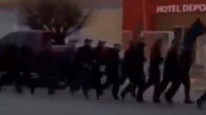 """El ejercicio. """"La Jefatura no tomó cuenta de ese video hasta después que lo subieron, fue un error del encargado de subir ese video"""", dijo el jefe policial."""