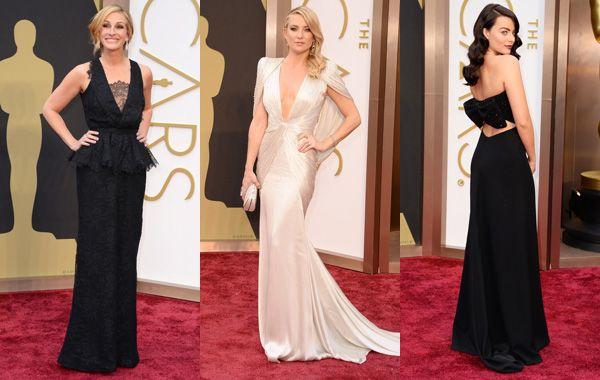 Los vestidos de los Oscars 2014 son siempre los otros protagonistas de la gala.