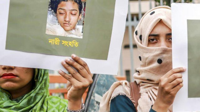 Joven quemada viva en Bangladesh por denunciar a un clérigo islámico