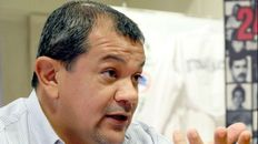 El secretario general de Sadop. Martín Lucero, denuncia violencia laboral ante el retorno de la presencialidad.