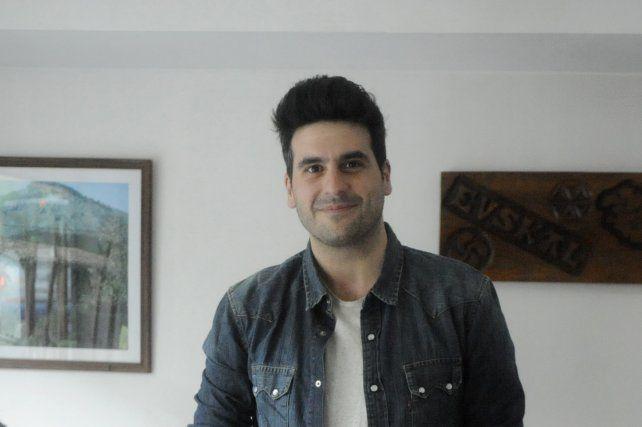 El artista Yamandú Cardozo.