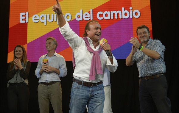 El ganador. Miguel Del Sel entiende que hubo un voto castigo a la gestión del socialismo provincial y municipal.