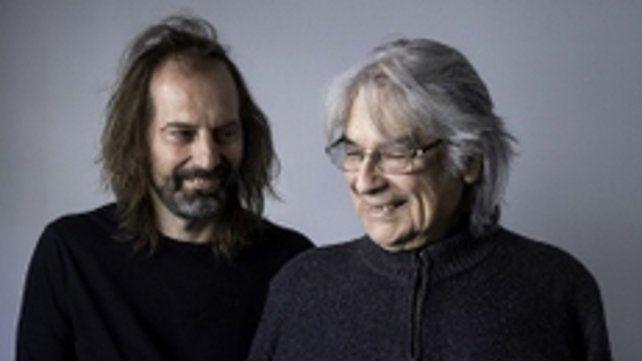 A la par. Spasiuk y Raúl Barboza