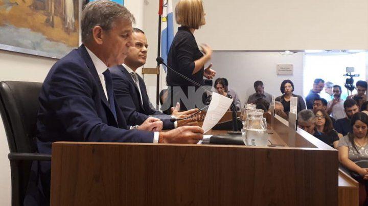El intendente Emilio Jatón inaugurará hoy las sesiones ordinarias del Concejo