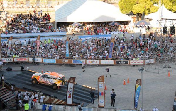 La ciudad vibró en la última edición del Dakar.