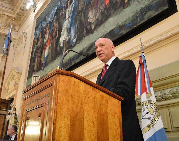 El gobernador Antonio Bonfatti hizo un balance de su gestión de gobierno.